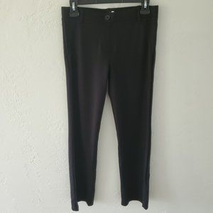 Betabrand Pants Size Small Black Ponte Stretch